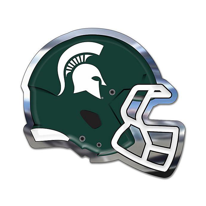 Michigan State University Medium Football Helmet Wall Art In