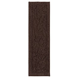 Mohawk Home Foliage Indoor Washable Stair Treads in Chocolate (Set of 4)