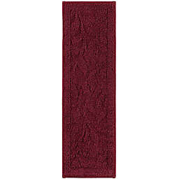 Mohawk Home Foliage Indoor Washable Stair Treads in Cabernet (Set of 4)