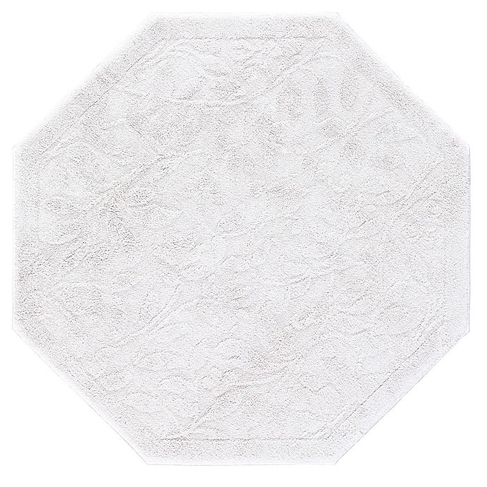 Alternate image 1 for Mohawk Home Foliage 4-Foot Octagon Accent Rug in Natural
