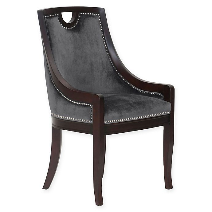 Alternate image 1 for Chic Home Benjamin Velvet Side Dining Chair