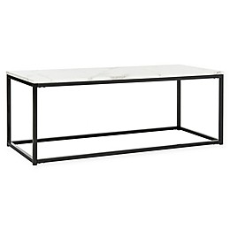 Safavieh Baize Coffee and End Table in White/Grey