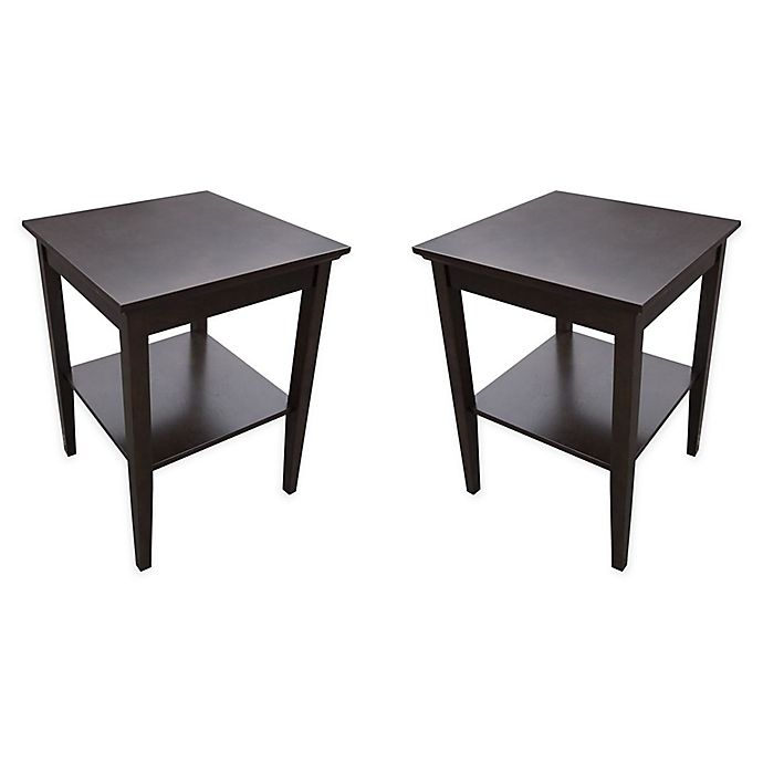 Usb Accent Tables Set Of 2 Bed Bath Beyond