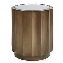 Madison Park Valentina Accent Table with Bronze Finish