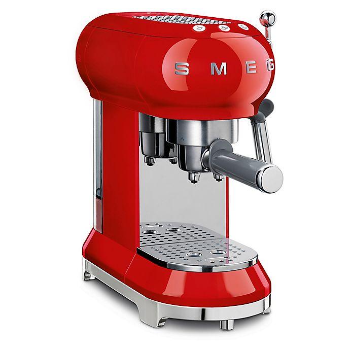 Alternate image 1 for SMEG 50's Retro Style Espresso Maker