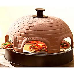 Pizzarette Classic 6-Person Mini Pizza Oven with Cooking Stone
