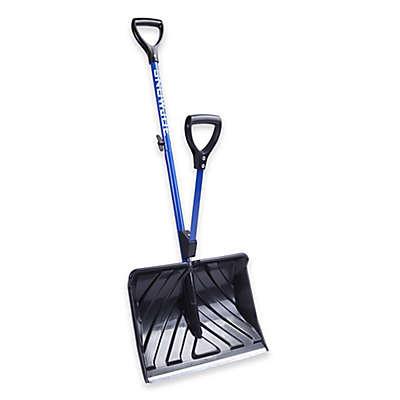 Snow Joe Back-Saving Snow Shovel in Blue