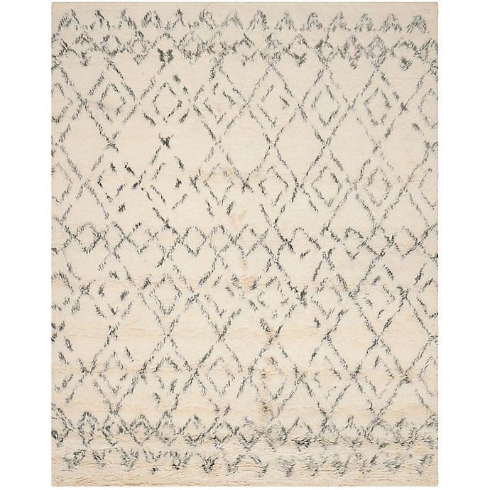 Alternate image 1 for Safavieh Casablanca Phoebe 9' x 12' Area Rug in Ivory/Grey