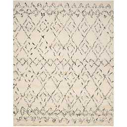 Safavieh Casablanca Phoebe 9' x 12' Area Rug in Ivory/Grey
