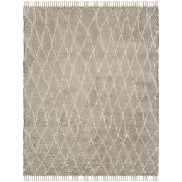 Safavieh Casablanca Arlo 8' x 10' Area Rug in Grey/Ivory