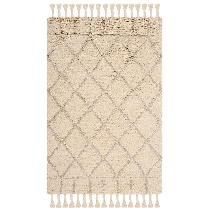 Alternate image 1 for Safavieh Casablanca Saffron 4' x 6' Area Rug in Ivory/Light Grey