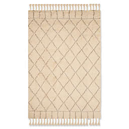 Safavieh Casablanca Saffron 6' x 9' Area Rug in Ivory/Light Grey