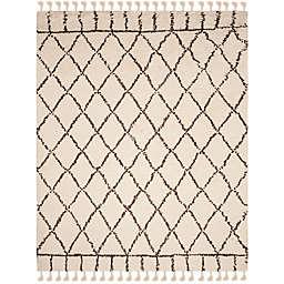 Safavieh Casablanca Saffron 8' x 10' Area Rug in Ivory/Brown