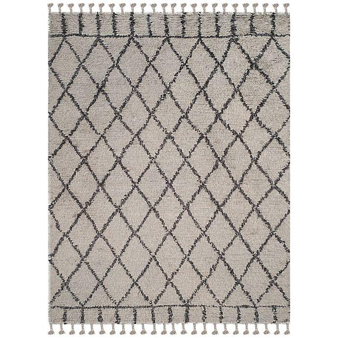 Alternate image 1 for Safavieh Casablanca Saffron 9' x 12' Area Rug in Grey/Dark Grey