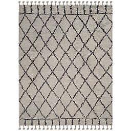 Safavieh Casablanca Saffron 9' x 12' Area Rug in Grey/Dark Grey