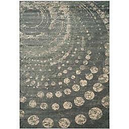 Safavieh Constellation Vintage 8-Foot x 11-Foot 2-Inch Leo Rug in Light Grey/Multi