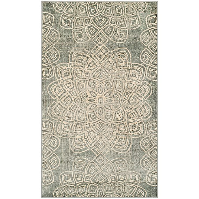 Alternate image 1 for Safavieh Constellation Vintage 2-Foot x 3-Foot Accent Rug in Light Grey
