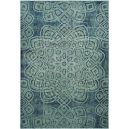 Safavieh Constellation Vintage 6-Foot 7-Inch x 9-Foot 2-Inch Area Rug in Light Blue