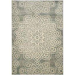 Safavieh Constellation Vintage 6-Foot 7-Inch x 9-Foot 2-Inch Area Rug in Light Grey
