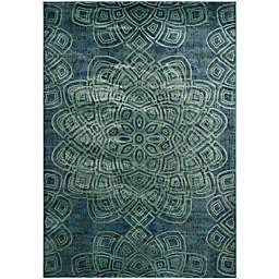 Safavieh Constellation Vintage 8-Foot  x 11-Foot 2-Inch Area Rug in Light Blue