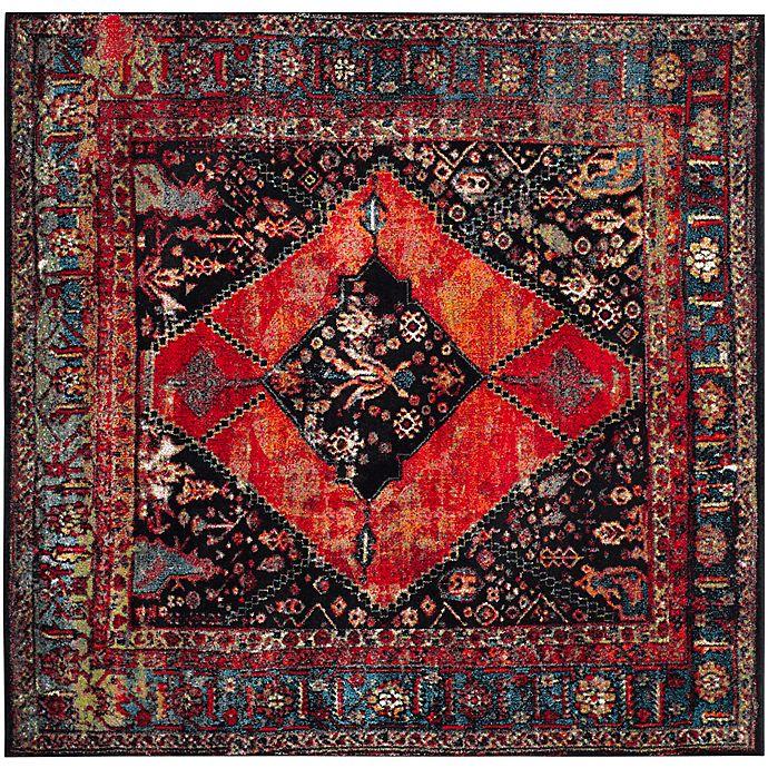 Alternate image 1 for Safavieh Vintage Hamadan 6-Foot 7-Inch x 6-Foot 7-Inch Farzin Rug in Orange