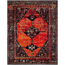 Safavieh Vintage Hamadan 9-Foot x 12-Foot Farzin Rug in Orange