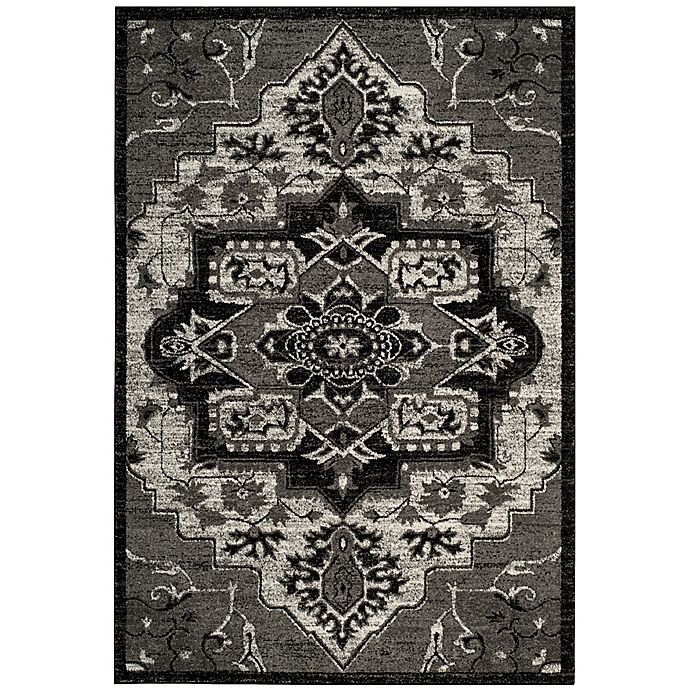 Alternate image 1 for Safavieh Vintage Hamadan 8-Foot x 10-Foot Hamid Rug in Light Grey