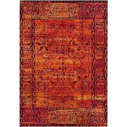 Safavieh Vintage Hamadan 9-Foot x 12-Foot Zima Rug in Orange