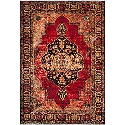 Safavieh Vintage Hamadan 4-Foot x 6-Foot Jahan Rug in Red