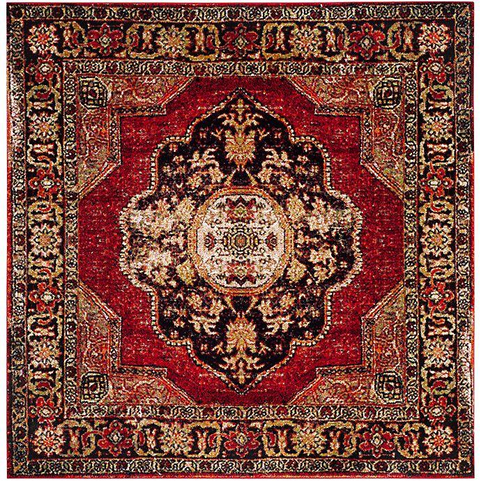 Alternate image 1 for Safavieh Vintage Hamadan 5-Foot 3-Inch x 5-Foot 3-Inch Jahan Rug in Red