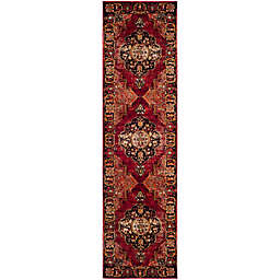 Safavieh Vintage Hamadan 2-Foot 2-Inch x 16-Foot Jahan Rug in Red