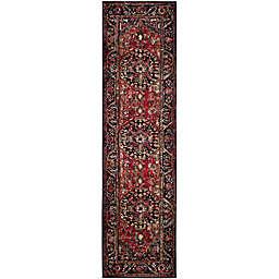 Safavieh Vintage Hamadan 2-Foot 2-Inch x 20-Foot Rahim Rug in Red