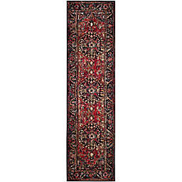 Safavieh Vintage Hamadan 2-Foot 2-Inch x 22-Foot Rahim Rug in Red