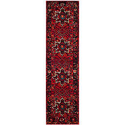Safavieh Vintage Hamadan 2-Foot 2-Inch x 8-Foot Nala Rug in Red