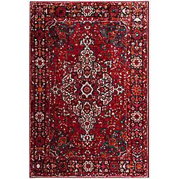 Safavieh Vintage Hamadan 4-Foot x 6-Foot Amir Rug in Red