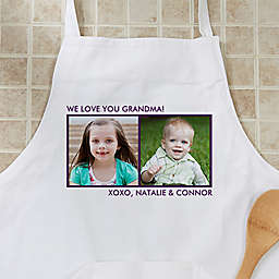 Picture Perfect 2-Photo Apron