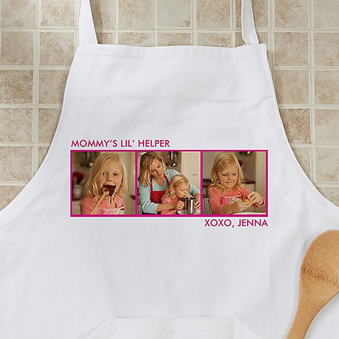 Alternate image 1 for Picture Perfect 3-Photo Apron