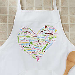 Her Heart Of Love Apron