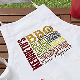 Barbecue Rules Apron
