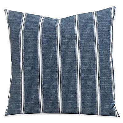SIScovers® Revolution Plus Everlast Hamilton 20-Inch Square Throw Pillow in Blue/White