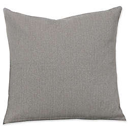 SIScovers® Revolution Plus Everlast Herringbone Square Throw Pillow Collection in Grey