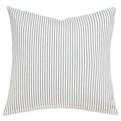 SIScovers® Revolution Plus Everlast Stripe Square Throw Pillow Collection in Fog/White