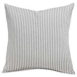 SIScovers® Revolution Plus Everlast Stripe 26-Inch Square Throw Pillow in Greige/Off White