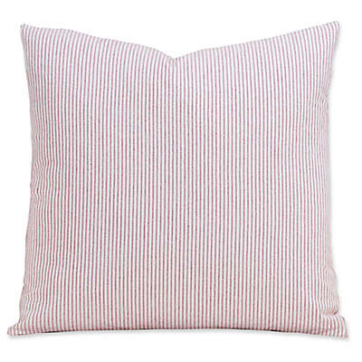 SIScovers® Heritage Brick 16-Inch Square Throw Pillow in Red/White