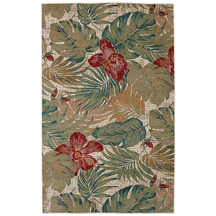 Alternate image 1 for Mohawk Home Destinations Clearwater 8-Foot  x 11-Foot Area Rug in Emerald