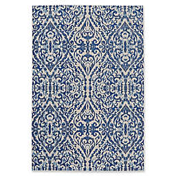 Feizy Manfred Damask Rug in Royal
