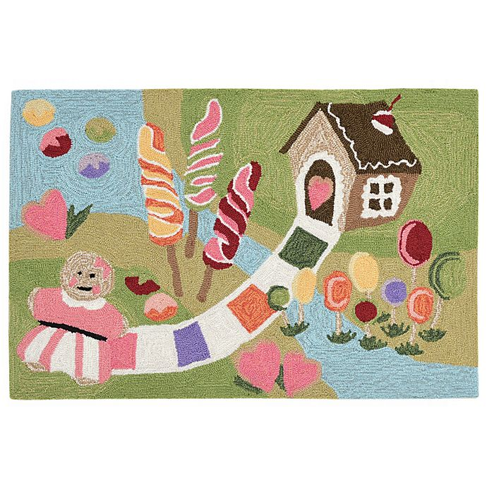 Alternate image 1 for Liora Manne Fun & Sweets 2-Foot 6-Inch x 4-Foot Indoor/Outdoor Accent Rug