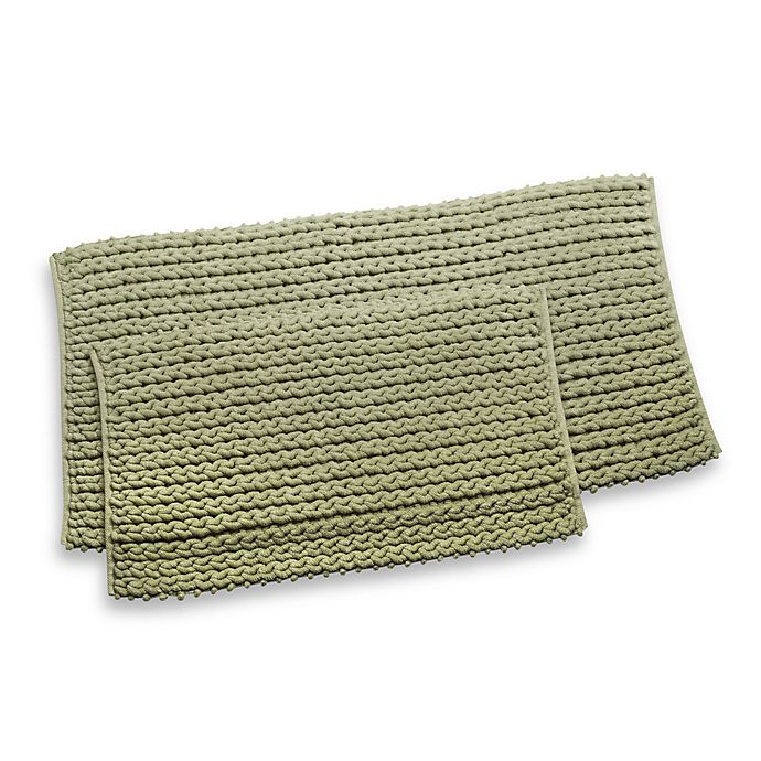 Rv Cable Knit 24 X 48 Bath Rug Bed Bath Beyond