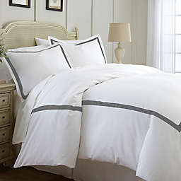 Italian Hotel Collection Satin Band Duvet Cover