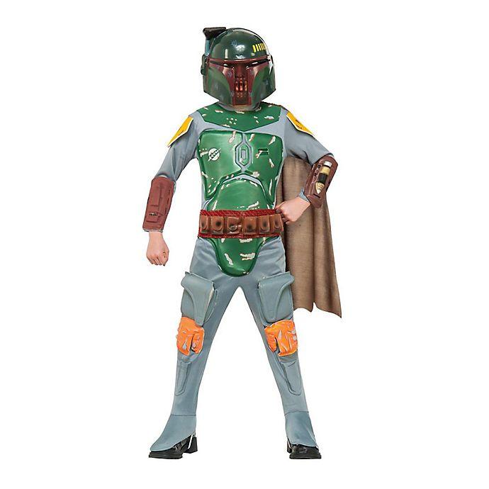 Alternate image 1 for Star Wars™ Bobba Fett Large Child's Halloween Costume